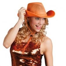 Cowboy hoed oranje