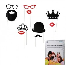 Photo booth set (17 stuks)