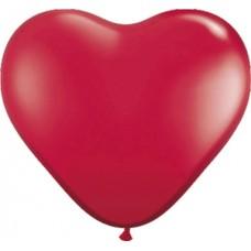 Harten Ballon Rood