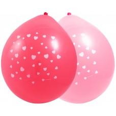 Ballonnen met hartjes