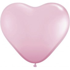 Harten Ballon Roze