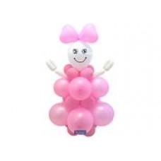 Doe het zelf ballon set Baby Girl