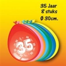 """Ballonnen """"35 Jaar"""""""