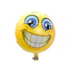 Folieballon Smiley (met helium)