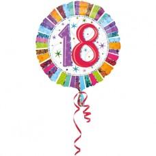 Folieballon 18 (met helium)