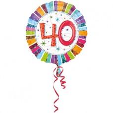 Folieballon 40 (met helium)