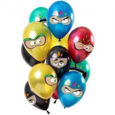 Ballonnen Superhelden Meerkleurig