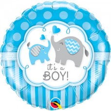 Folieballon It's a boy (met helium)