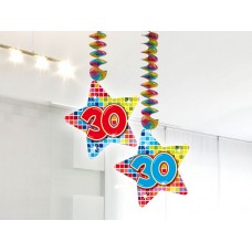 Hangdecoratie Blocks 30
