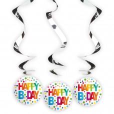 HAPPY BIRTHDAY HANGDECORATIE