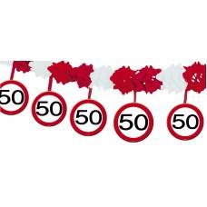 VERKEERSBORD SLINGER 50