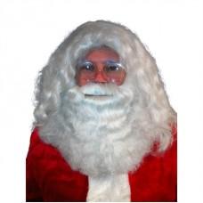 Baardstel kanekalon Kerstman de luxe