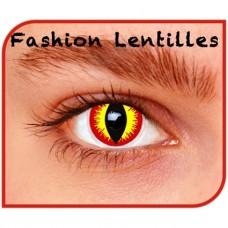Kleurlenzen Fashion lentilles - Devil  maandlenzen