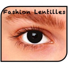 Kleurlenzen Fashion lentilles - Black Out maandlenzen