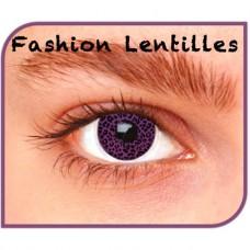 Kleurlenzen Fashion lentilles -  Leopard maandlenzen