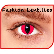 Kleurlenzen Fashion lentilles - Red cat maandlenzen