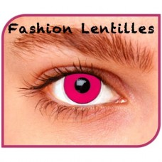 Kleurlenzen Fashion lentilles - Pink Out maandlenzen