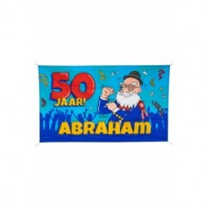 CARTOON GEVELVLAG ABRAHAM