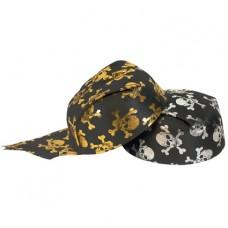 Piraten hoed zilver/goud