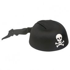 Piraten hoed zwart