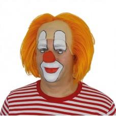 Clownspruik Bassie oranje