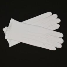 Handschoenen wit katoen luxe (mt L)