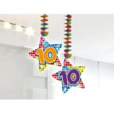 Hangdecoratie Blocks 10 jaar
