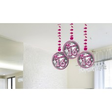 Hangdecoratie Sweet 16