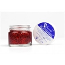 Glittergel rood pot 15 ml. van Superstar
