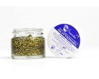 Glittergel goud pot 15 ml. van Superstar