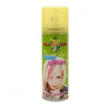 Haarspray goud glitter 125ml